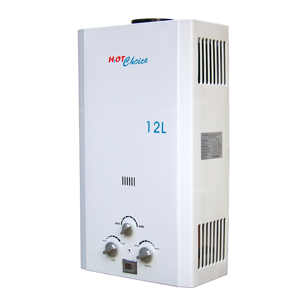 brand new hot choice natural gas tankless water heater 3 2gpm 12l ebay. Black Bedroom Furniture Sets. Home Design Ideas